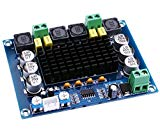 Audio Amplifier Board, Yeeco Dual Channel 120W+120W Digital Power Amplifier Board DC 12-26V 20V 24V Car Audio Stereo AMP Module with XH2.54-3 Pin Audio Input, DIY Sound System Component