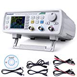 Upgraded 60MHz DDS Signal Generator Counter,Kuman 2.4in Screen Display High Precision Dual-channel Arbitray Waveform Generator Frequency Meter, 250MSa/s, 819214bits, VCO, Burst, Modulation, Counter