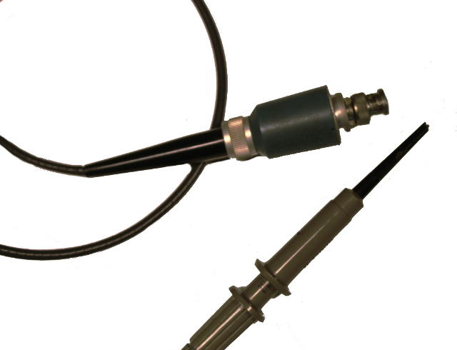 Passive oscilloscope probe.